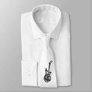 Electric Guitar Tie