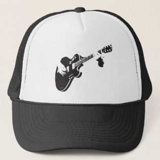 Electric Guitar Trucker Hat