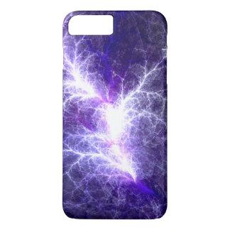 Electric Heart Fractal Phone Case