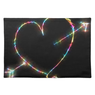 Electric Heart Placemat