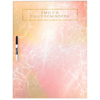 Electric Holograph Gradient Pink ID371 Dry Erase Board