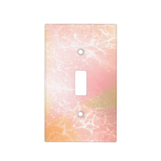 Electric Holograph Gradient Pink ID371 Light Switch Cover