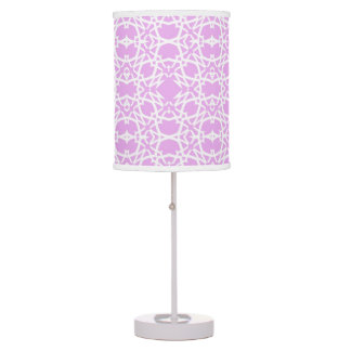 Electric in Lilac Table Lamp