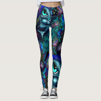 Electric Jelly Tuna Girl Leggings