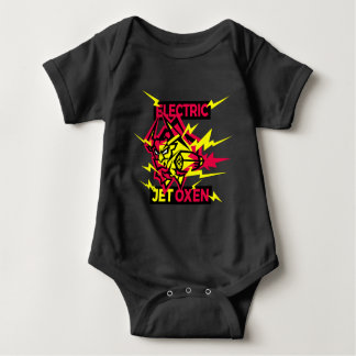 Electric Jet Oxen Baby Bodysuit