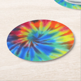 Electric Kool Aid Round Paper Coaster