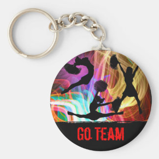 Electric Laser Show Cheerleaders Keychains