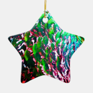 Electric Light Flumes Ceramic Star Ornament