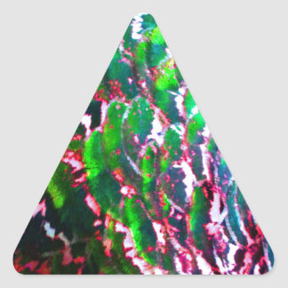 Electric Light Flumes Triangle Sticker