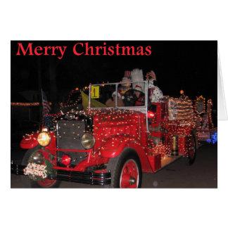 Electric Light Parade Christmas Card