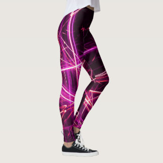Electric Light Show Dance Leggings