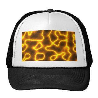 Electric lightning trucker hat