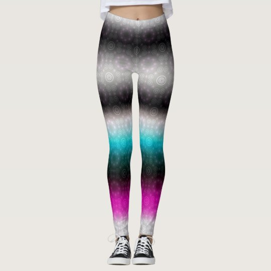 Electric Lights at Night:  Neon Passion Leggings