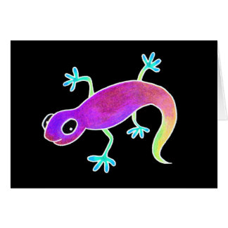 Electric Lizard! Card