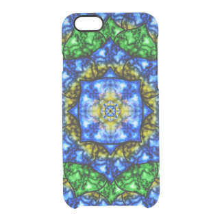 Electric Lotus Mandala Clear iPhone 6/6S Case
