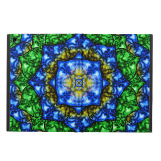 Electric Lotus Mandala iPad Air Cover