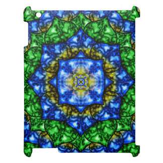 Electric Lotus Mandala iPad Cases