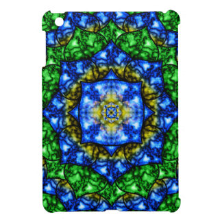 Electric Lotus Mandala iPad Mini Cover