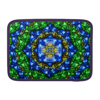 Electric Lotus Mandala MacBook Air Sleeves