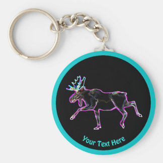 Electric Moose Keychain