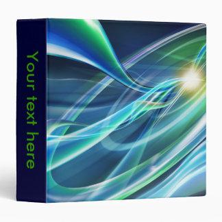 Electric Neon Lights Notebook Binder
