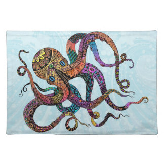 Electric Octopus Placemats