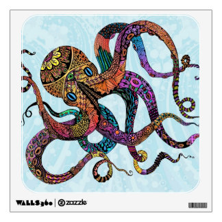 Electric Octopus Wall Decal