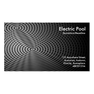 Electric Pool 02 Business Card Templates