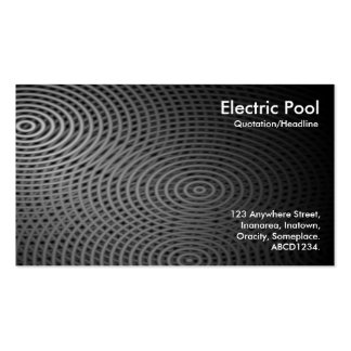 Electric Pool 09 Business Card Template