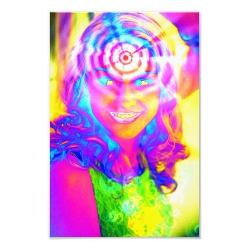 Electric Rainbow Photo Art