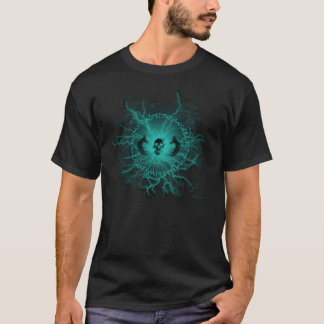 Electric Rune & Skull T-Shirt (Black)