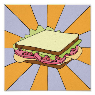 Electric Sandwich Poster