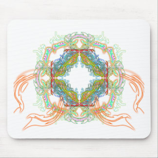 Electric Scream Mouse Pad