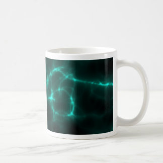 Electric Shock in Blue Green Coffee Mug