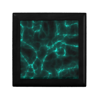 Electric Shock in Blue Green Gift Box