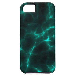 Electric Shock in Blue Green iPhone 5 Cover
