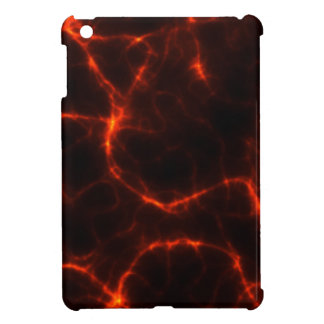 Electric Shock in Crimson iPad Mini Covers