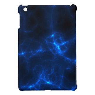 Electric Shock in Dark Blue iPad Mini Covers