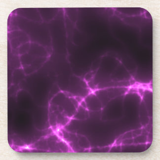 Electric Shock in Magenta Coaster
