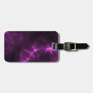 Electric Shock in Magenta Luggage Tag