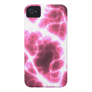Electric Shock in Pink iPhone 4 Case