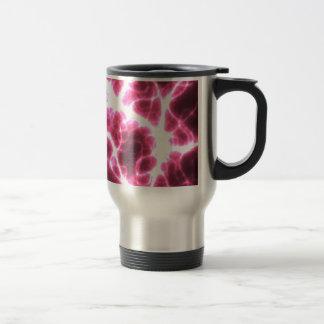 Electric Shock in Pink Travel Mug