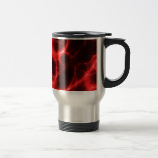 Electric Shock in Red Travel Mug