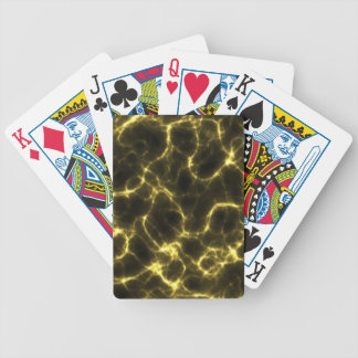 Electric Shock in Yellow Bicycle Playing Cards