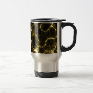 Electric Shock in Yellow Travel Mug