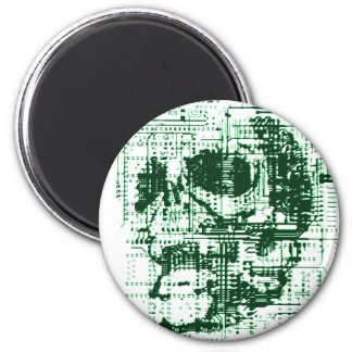 Electric Skull Magnet