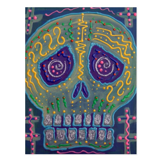 Electric Skull Postcards
