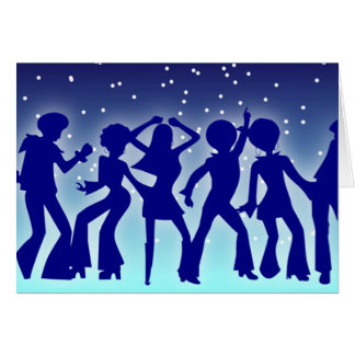 Electric Slide greeting card