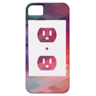 Electric Sockets Graphic iPhone 5 Cover