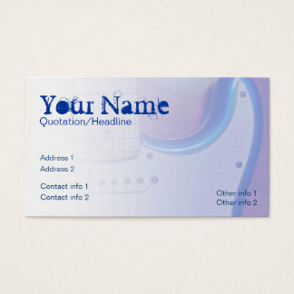 Electric-telic Business card